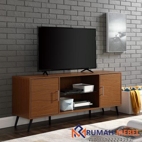 Meja TV Jati Minimalis