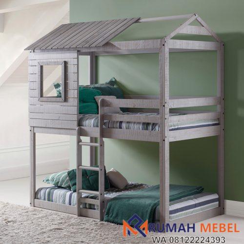 Tempat Tidur Tingkat Unik