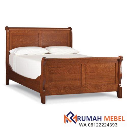 Tempat Tidur Kayu Jati