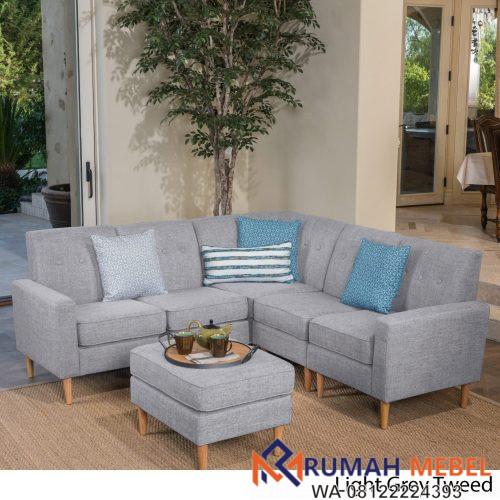 Kursi Sofa Tamu Minimalis Modern Rumah Mebel