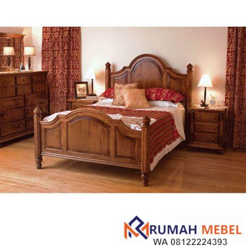 Model Tempat Tidur Kayu Minimalis Terbaru