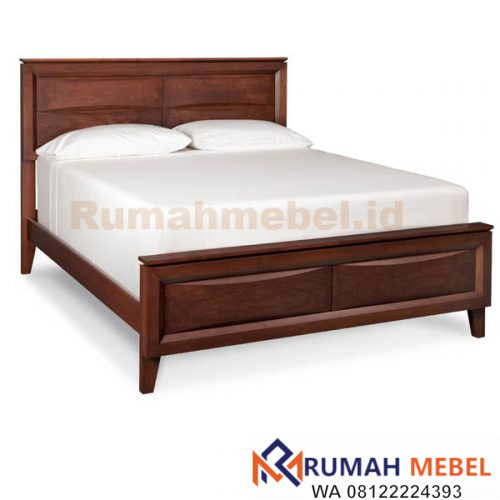 Tempat Tidur Kayu Modern
