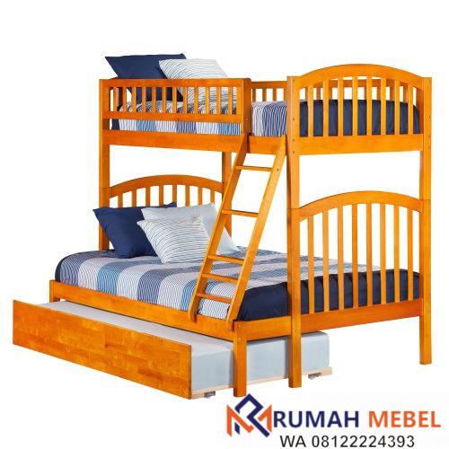 Tempat Tidur Tingkat Dari Kayu