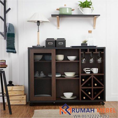 Lemari Dapur Kayu Minimalis