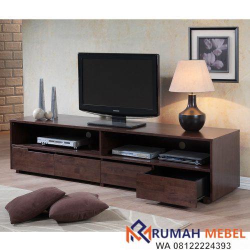 Rak TV Minimalis Jati