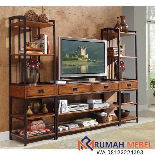 Rak TV Kayu Jati