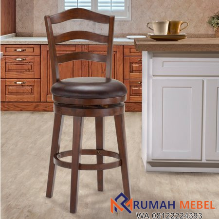 Kursi Bar Stool Kayu