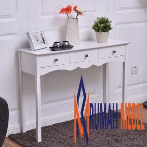 Meja Console Putih