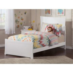 Tempat Tidur Anak Putih