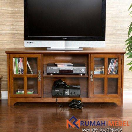 Meja TV Minimalis Kayu