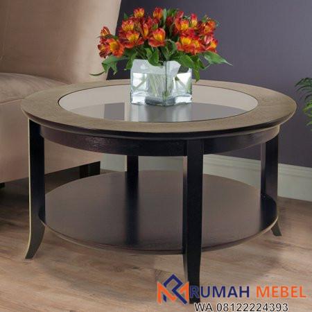 Meja Coffee Table Bulat