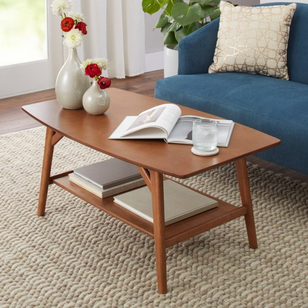 Meja Coffee Table Minimalis Jati