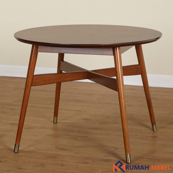 Meja Makan Bundar Modern