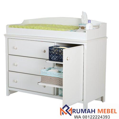 Baby Tafel Minimalis Kayu Jati