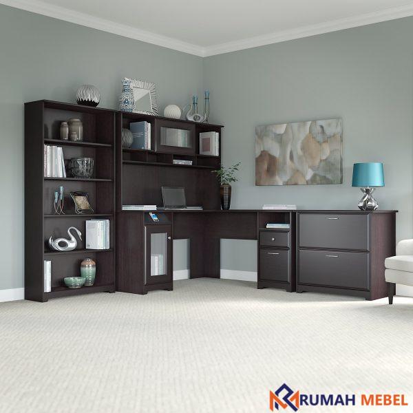Set Meja Kantor Model L