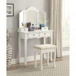 Meja Rias Simple Warna Putih