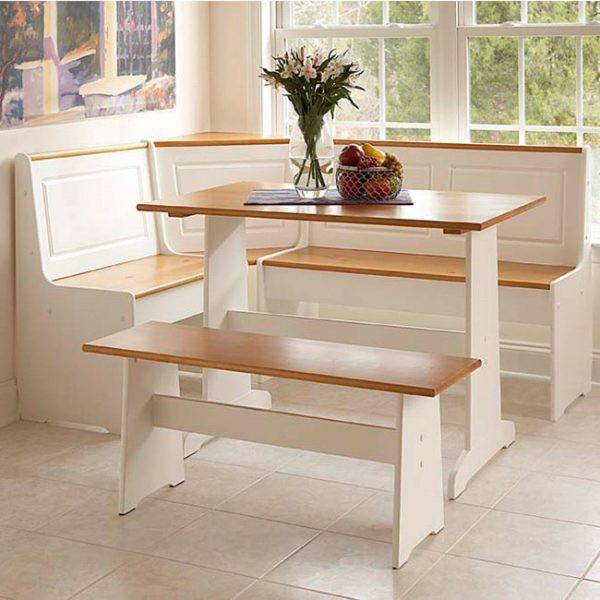 Meja Makan Unik Duco Putih