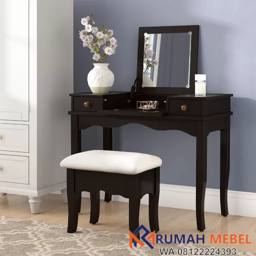 Meja Rias Tolet Minimalis Dengan Kursi