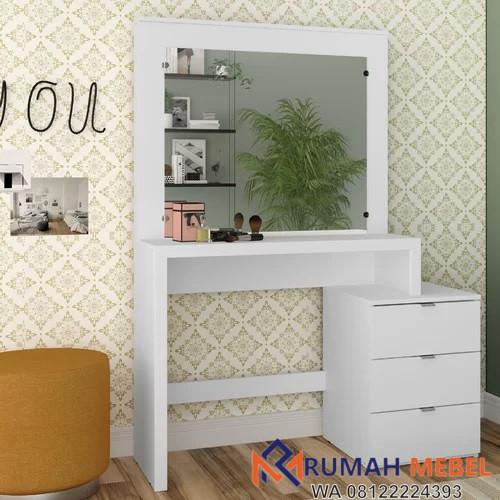 Meja Rias Model Terbaru Warna Putih