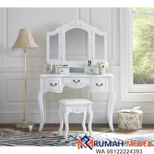 Meja Rias Surabaya Warna Putih Terbaru