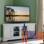 Rak TV Simple Modern Warna Putih