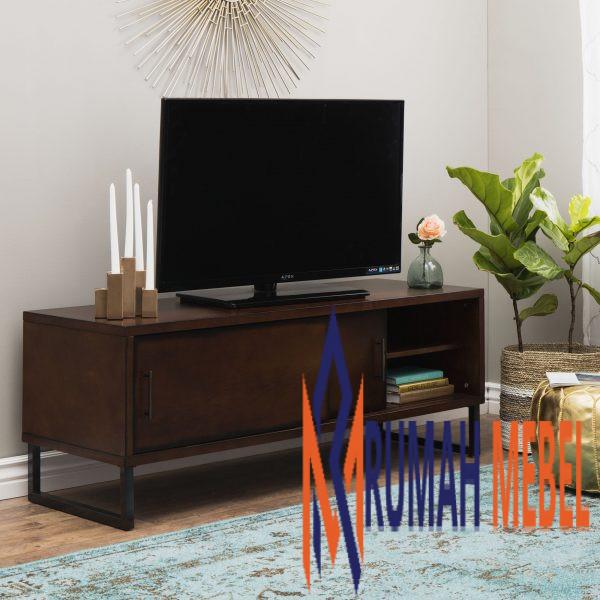 Meja TV Minimalis Kaki Besi Modern