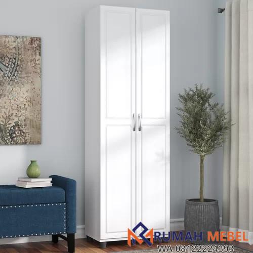 Lemari Pakaian Simpel 2 Pintu