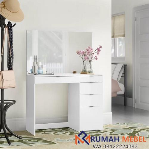 Model Meja Rias Putih Duco Minimalis Terbaru