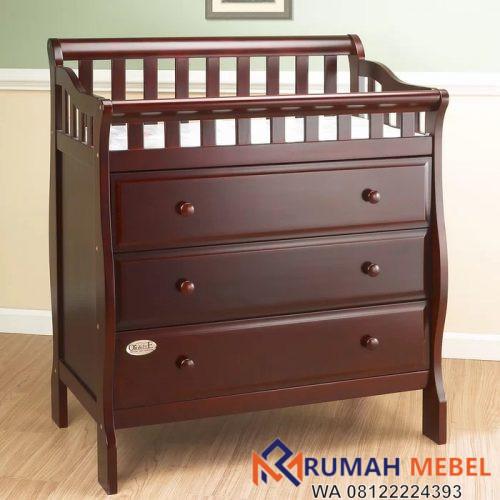 Baby Tafel Kayu Minimalis 3 Laci