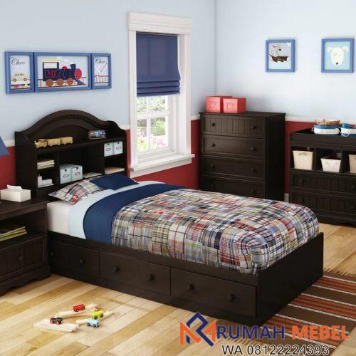 Tempat Tidur Savannah Dengan Laci