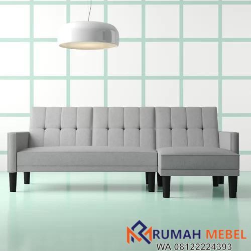 Kursi Sofa Tamu Bentuk L Minimalis
