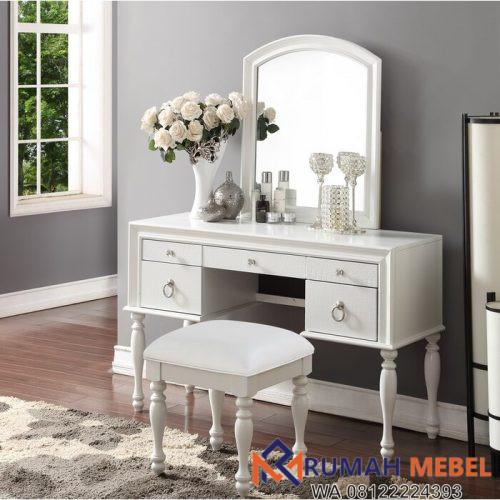 Meja Rias Minimalis Florine Warna Putih