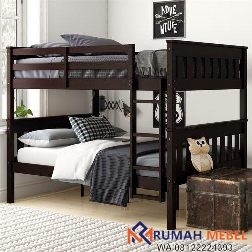 Tempat Tidur Tingkat Minimalis Almeda
