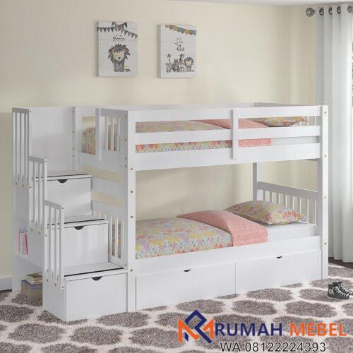 Tempat Tidur Tingkat Tena Twin Berlaci