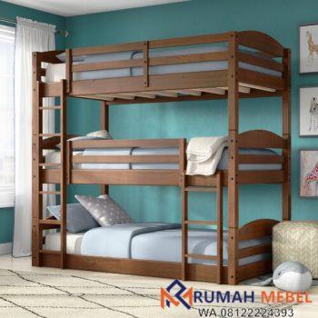 Ranjang Susun Anak Twin Bed Triple