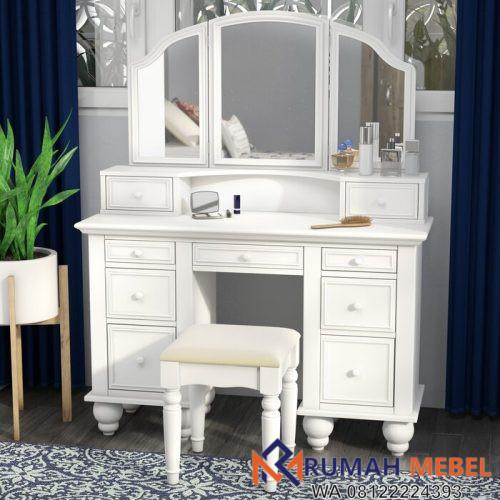 Meja Rias Minimalis Putih Anthonyson