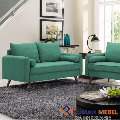 Kursi Tamu Sofa Haney 2 Seater