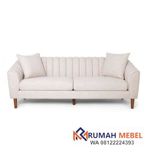 Kursi Tamu Sofa Minimalis Jayde 3 Seater