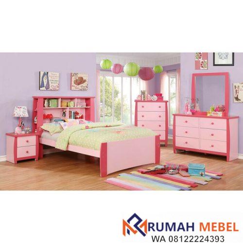 Kamar Set Anak Perempuan Elim Warna Pink