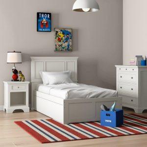 Kamar Set Anak Minimalis Barnard Putih