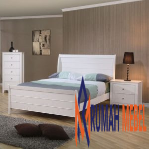 Kamar Set Minimalis Putih Anak Vidor