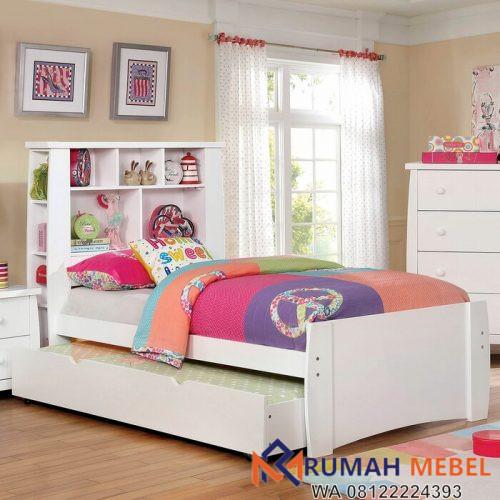 Kamar Set Anak Minimalis Putih Elim