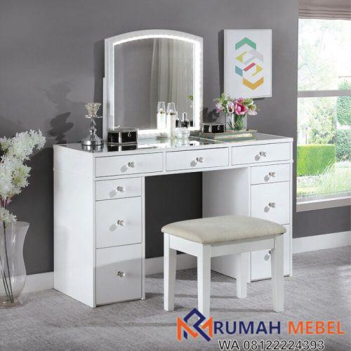 Meja Rias Minimalis Putih Hana Vanity