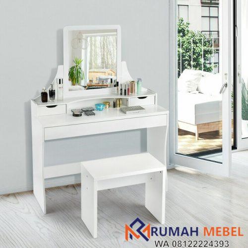 Meja Rias Minimalis Putih Ebern Pace