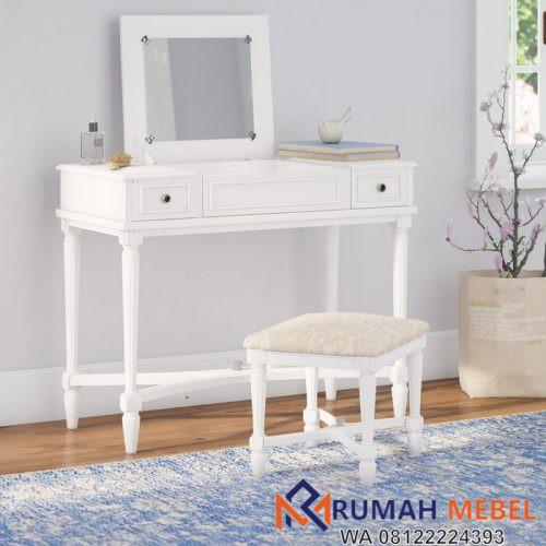Meja Rias Minimalis Putih AmieMeja Rias Minimalis Putih Amie