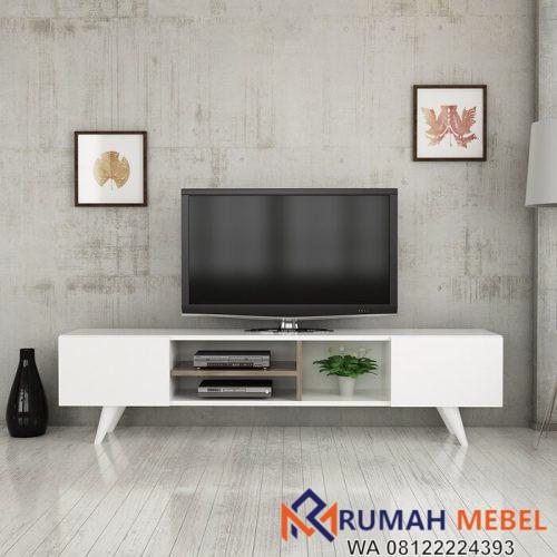 Rak TV Kayu Minimalis Putih OliveRak TV Kayu Minimalis Putih Oliverr
