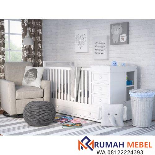 Tempat Tidur Bayi dan Penyimpanan Shilah