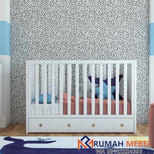 Box Bayi dengan Laci Rue