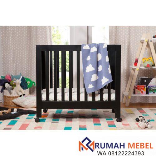 Keranjang Bayi Lipat Origami Potable