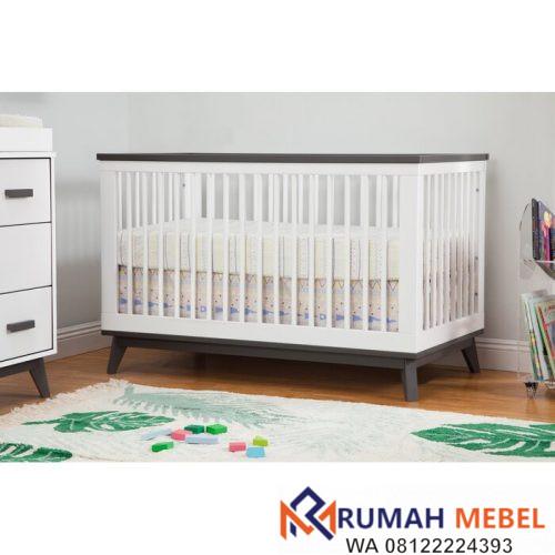 Tempat Tidur Bayi Scoot Kontemporer